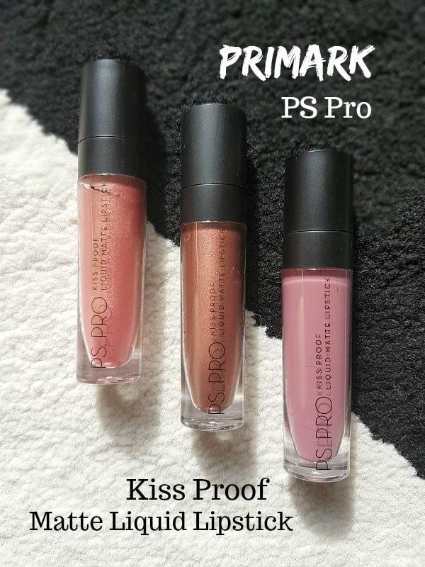 Hoe kiss proof is Primark PS Pro Liquid Matte Lipstick?