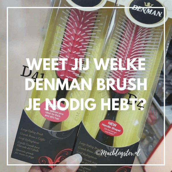 Denman brush voor krullen review