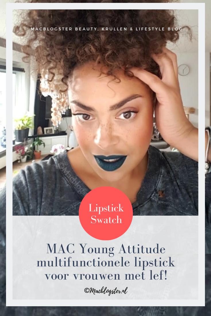 MAC Young Attitude: deze lipstick is voor vrouwen met lef!