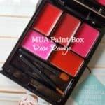 MUA Paint Box Rose Rouge: lipstick voor budget beauties