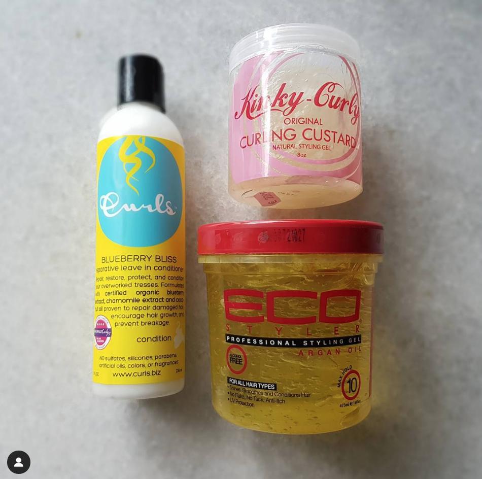 haarproducten voor krullend haar