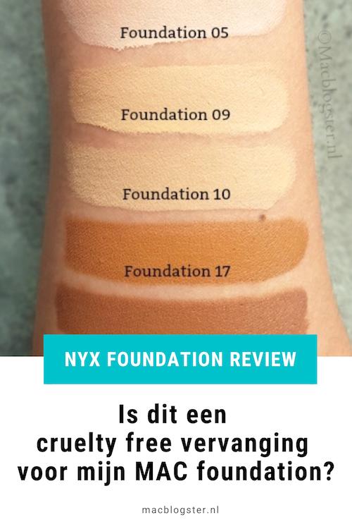 NYX Foundation test: kun je oneffenheden camoufleren met deze foundation?