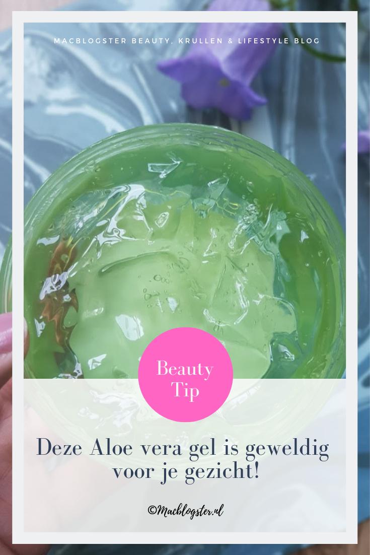 Deze Aloe vera gel van de Action is geweldig voor je gezicht!