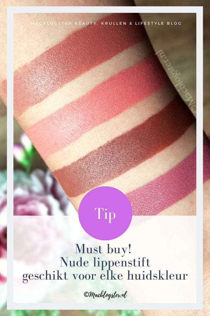 Make-up tip: nude lippenstift geschikt voor elke huidskleur!
