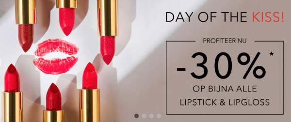 Lipstick korting Day of the Kiss