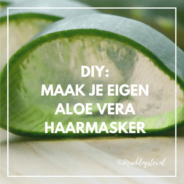 How to: Maak je eigen Aloe Vera haarmasker & gel