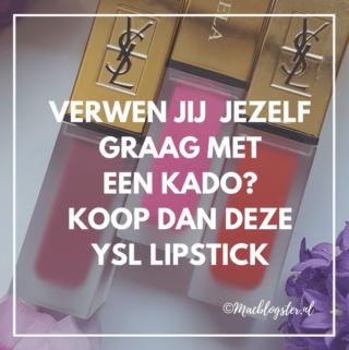 Zijn dit de beste liquid lipsticks ever? YSL Tatouage Couture Matte Stain
