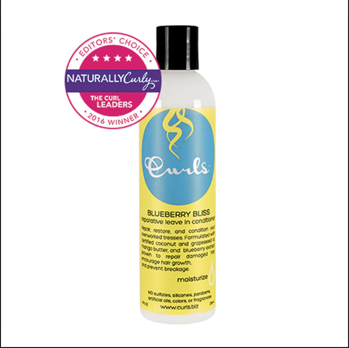 Curls Blueberry Bliss Reparative Leave In Conditioner Image