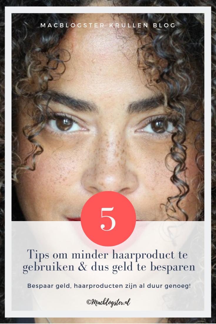 5 tips om geld te sparen & minder haarproduct te gebruiken (zelfs als je droog haar hebt)