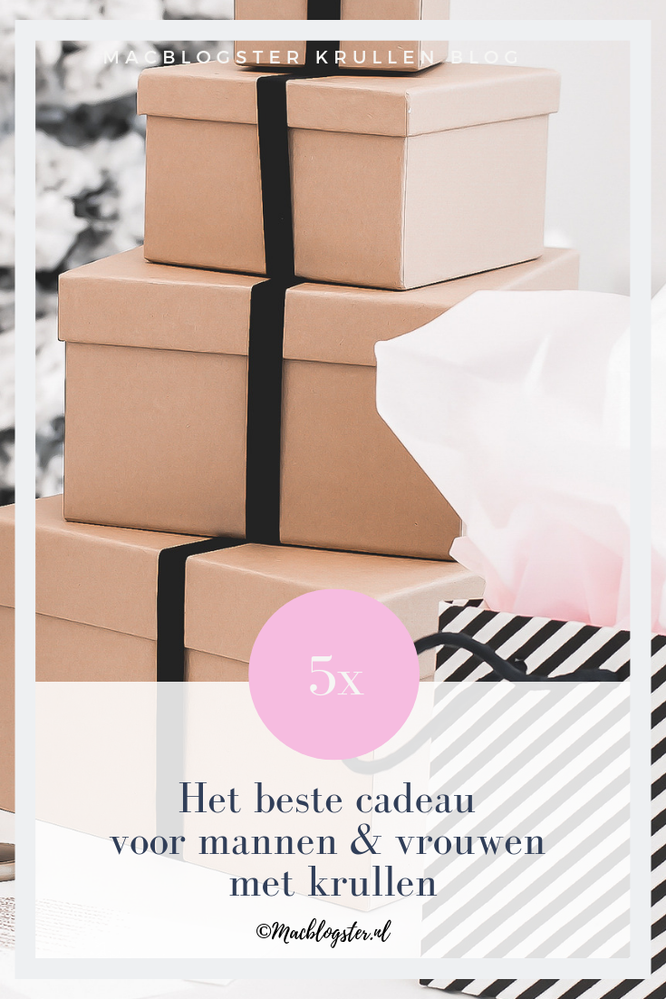 Het beste cadeau voor mannen & vrouwen met krullen