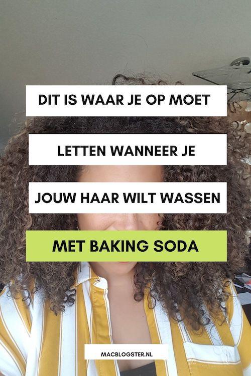 Baking Soda shampoo DIY: haar wassen met baking soda & appelazijn