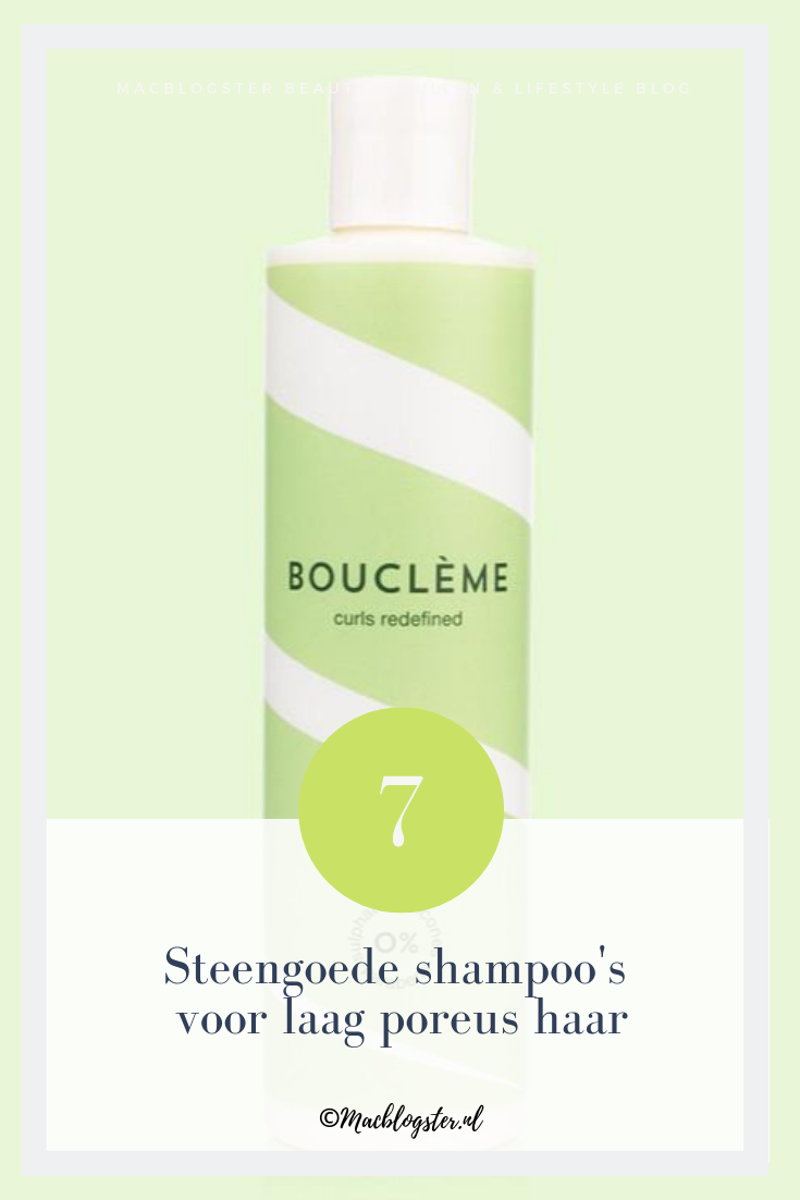 Dit zijn de beste shampoo's voor laag poreus haar