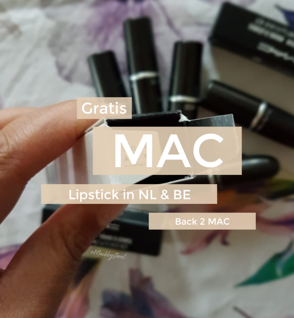 Gratis MAC lippenstift in Nederland & België dankzij Back 2 MAC?