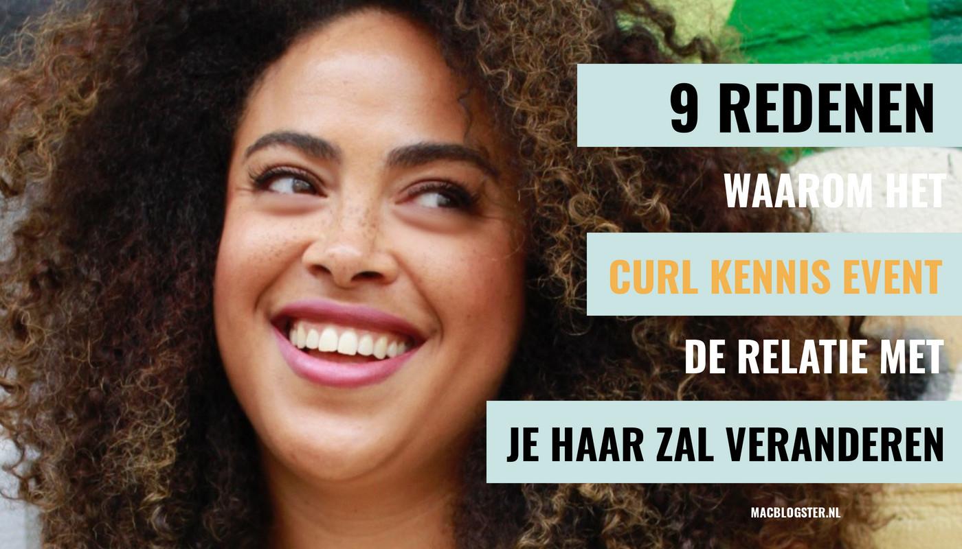 9 Redenen waarom het Curl Kennis Event de relatie met je haar zal veranderen