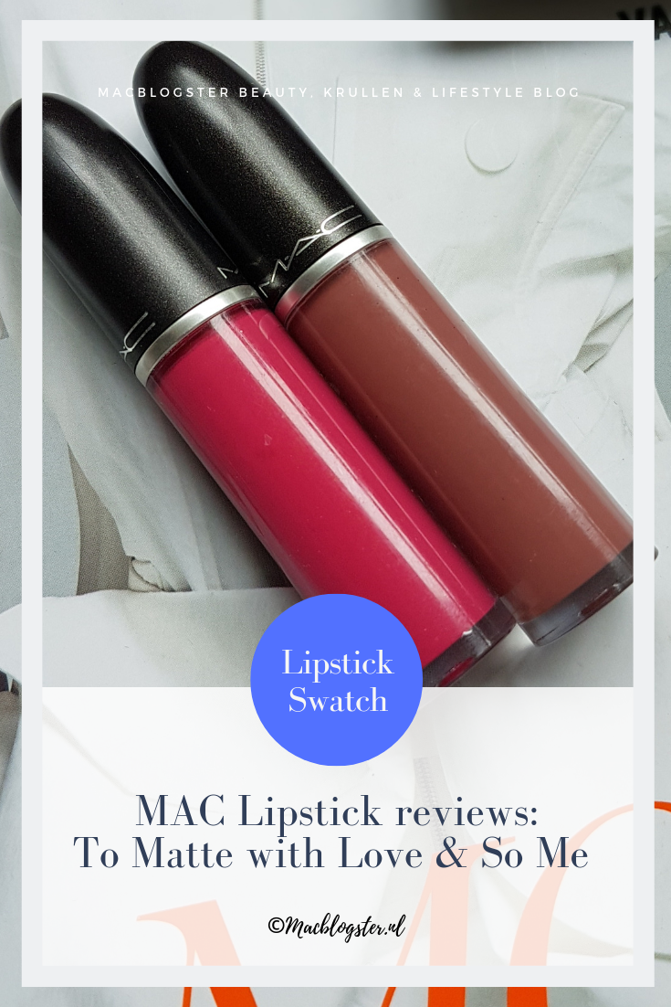 MAC To Matte with Love & So Me Review