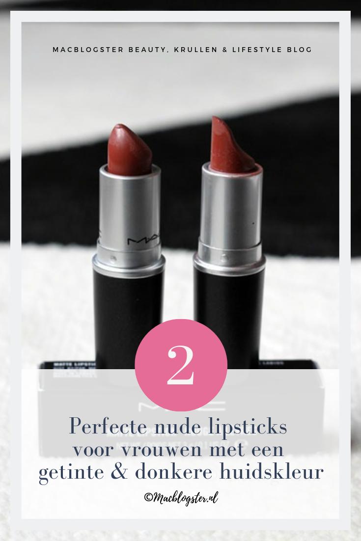 perfecte nude lipsticks voor Melanine Meisjes