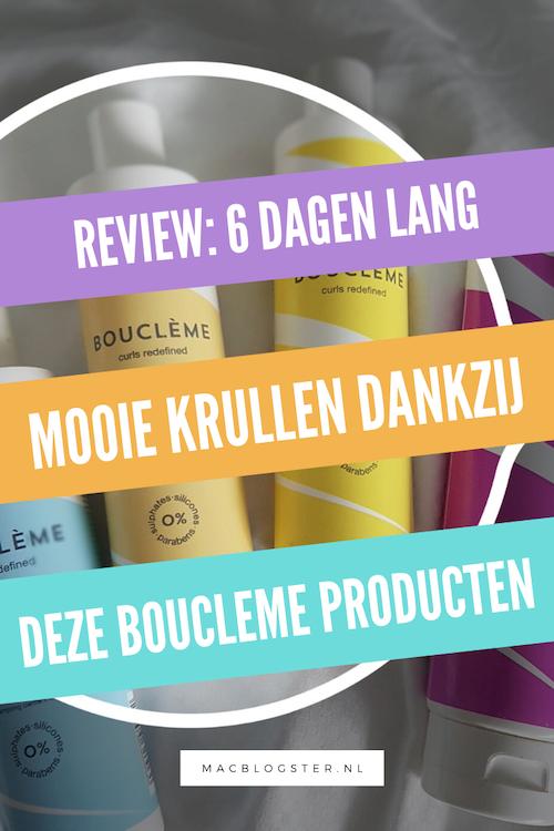 Boucleme review: mijn krullen bleven 6 dagen lang gehydrateerd!
