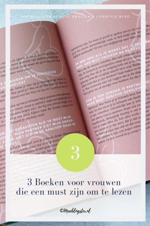 3 boeken voor vrouwen die een must zijn om te lezen
