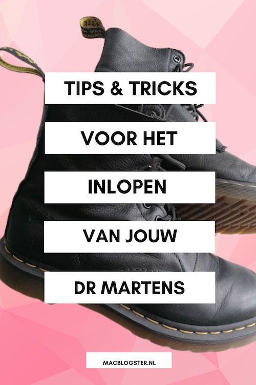 Dr Martens inlopen: tips & tricks