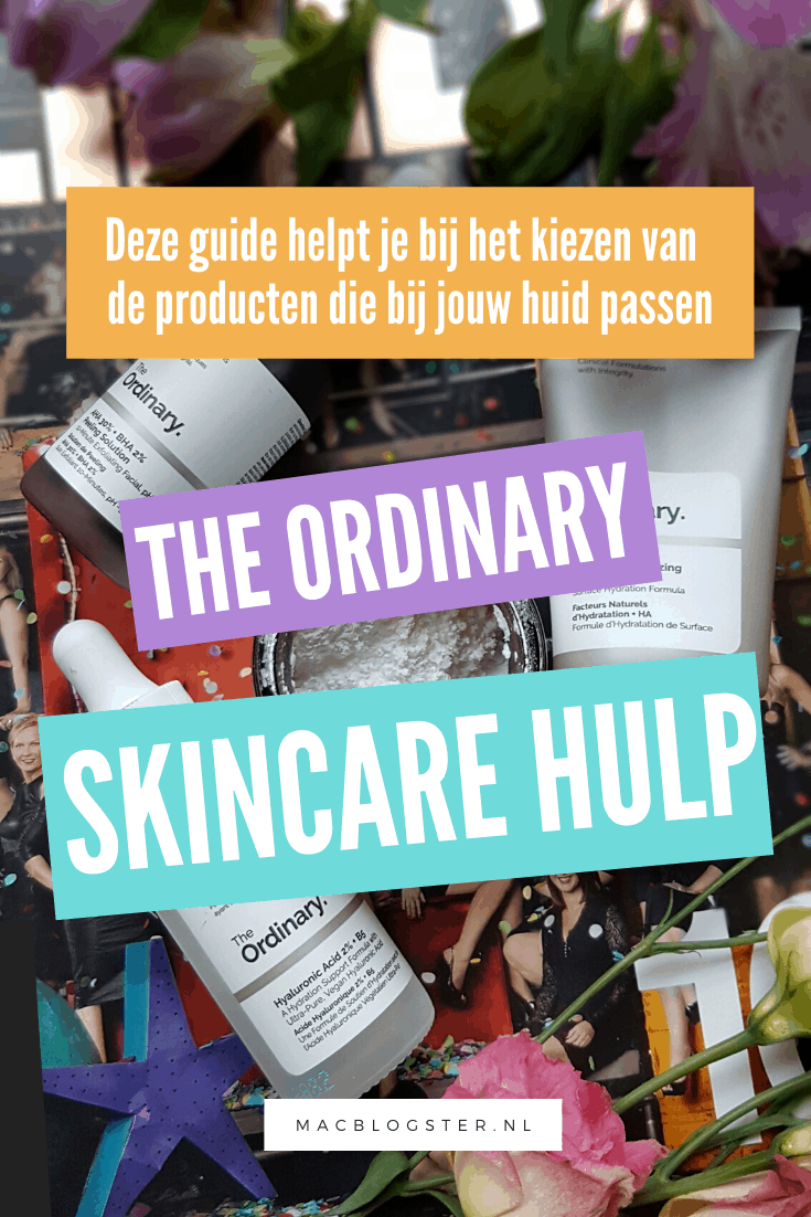 The Ordinary mijn ervaring