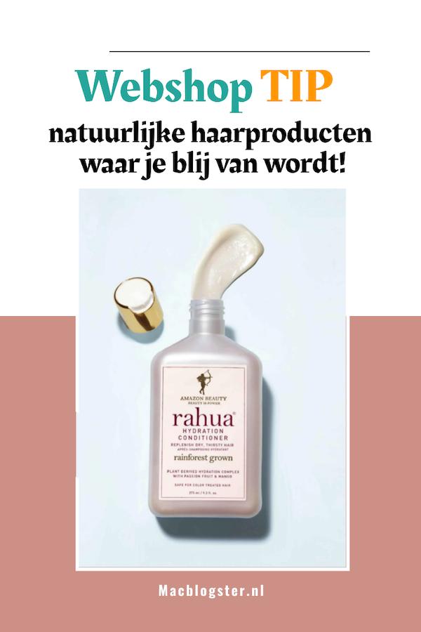 Tip: duurzame webshop met natuurlijke haarproducten