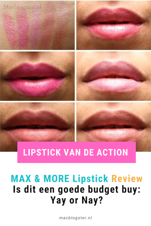 Max and More Lipstick van de Action Review: Yay or Nay?
