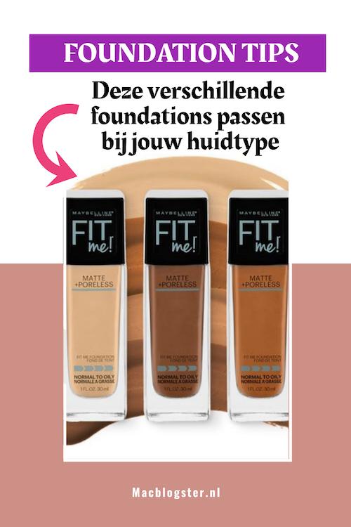Foundation tips: deze foundations passen bij jouw huidtype
