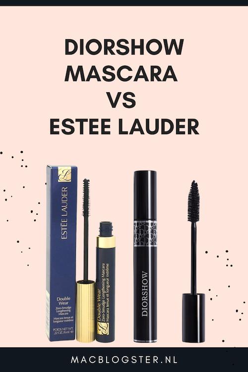 diorshow vs estee lauder Mascara review