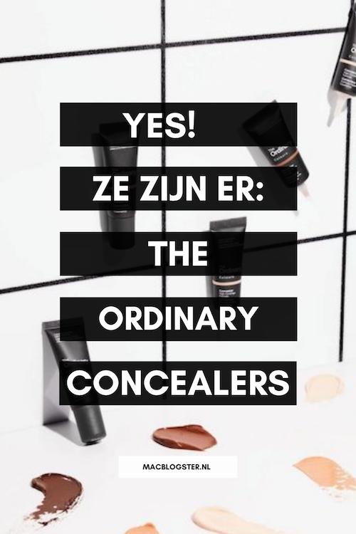 Yes, ze zijn er: The Ordinary concealers! Wees er snel bij!