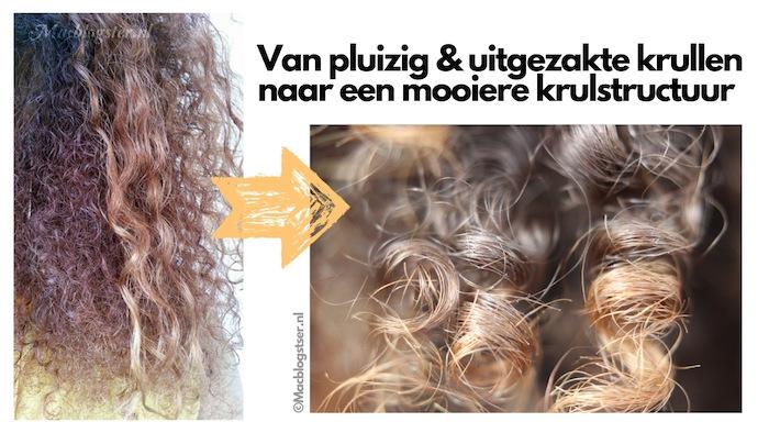 Proteine haarmasker tip: wek jouw krullen tot leven - Before & After
