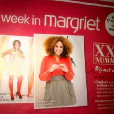 Tijdschrift Margriet: Macblogster styled bij Edith Domen
